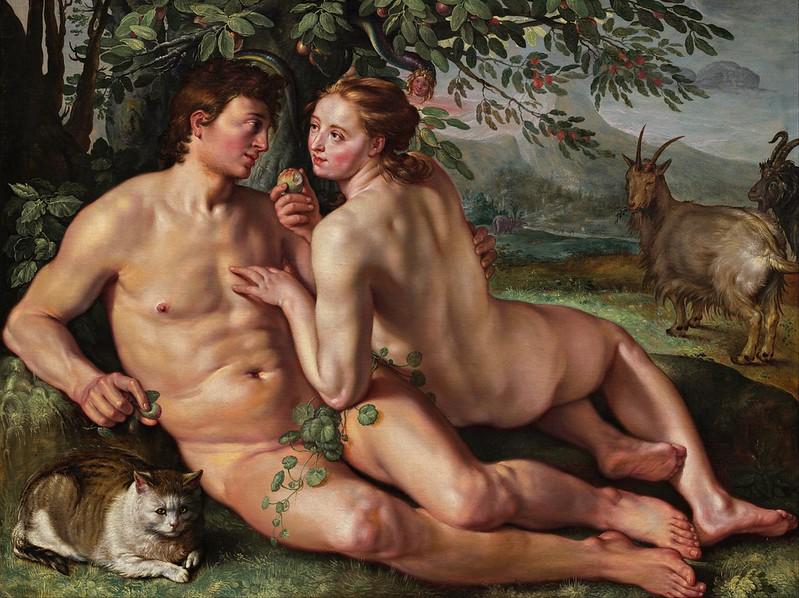 Hendrik Goltzius - The Fall of Man (1616)