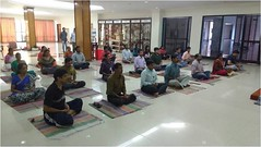 Self Management through Pranayama – Lecture cum Demo in ISRO Thiruvananthapuram