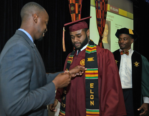 Donning of the Kente ceremony May 18, 2017