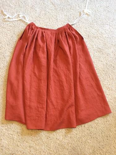 Linen 18th Century Petticoat
