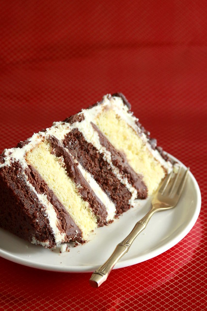 Tuxedo Mud Cake