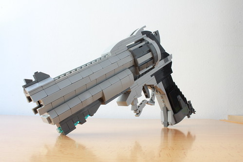 Lego McCree's Peacekeeper from Overwatch