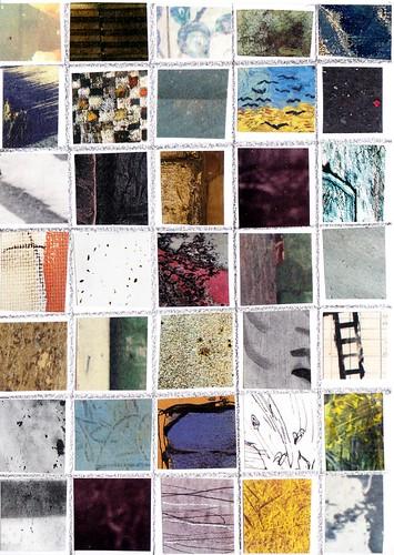 Squares Postcard
