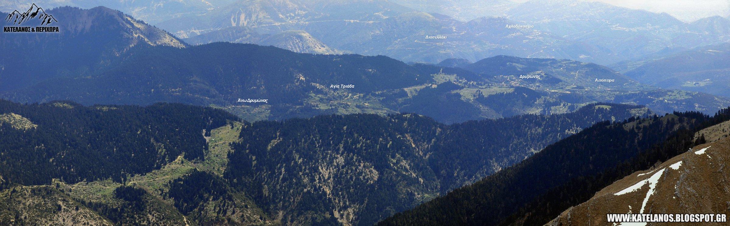 ορεινη τριχωνιδα αποκουρο θερμου δρυμωνας αγια τριαδα αετοπετρα αιτωλοακαρνανιας