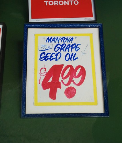"""Mantova"" Grape Seed Oil, $4.99 #toronto #roncesvalles #honesteds"