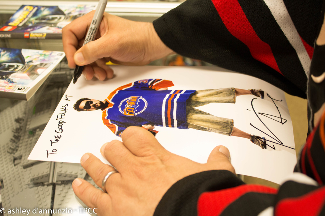 Kevin Smith Store Visit