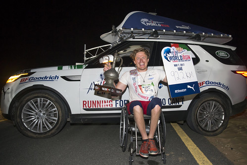 Aron Anderson Wings for Life World Run 2017