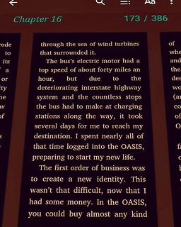 An excerpt from the frightening dystopia of Ready Player One (Novel by Ernest Cline).  #novel #reading #sleepy | by lemasney