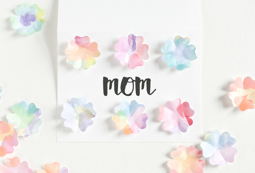 Watercolor Flower Cards
