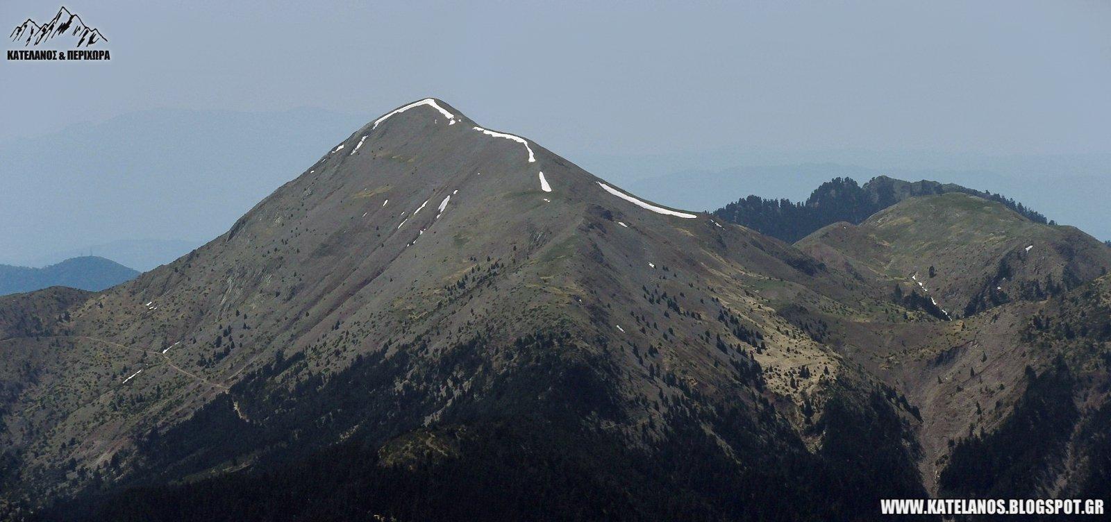κορυφη τριανταφυλλια παναιτωλικου ορους χιονουρες