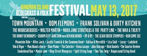 Kingman Island Bluegrass & Folk Festival