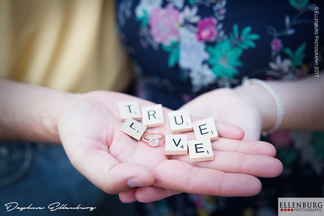 True Love Scrabble | Ellenburg Photography