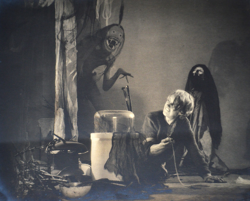 William Mortensen - The Old Hag With Incubus, 1928