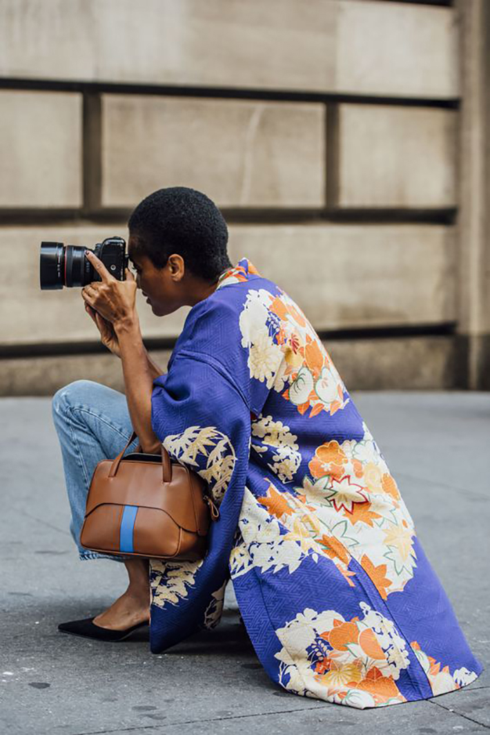 kimono street style spring 2017 outfits inspiration accessories fashion trend style3