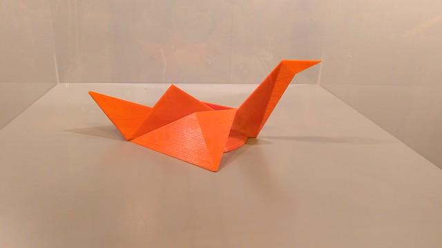 Exposición Metamorfosis del Origami en Heroes Manga Madrid