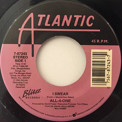 ALL-4-ONE:I SWEAR(LABEL SIDE-A)