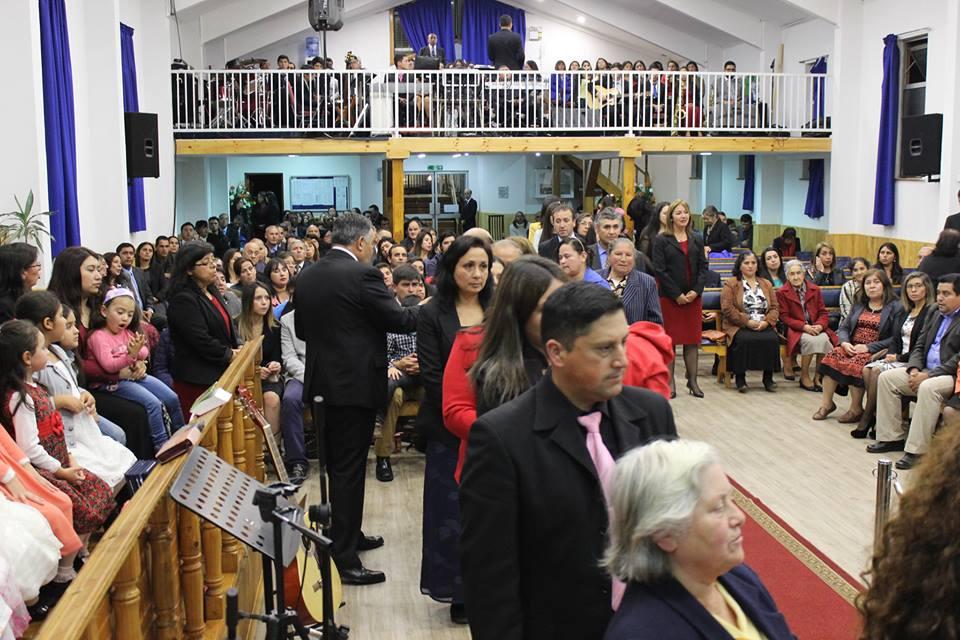 Santa Cena en la Iglesia de Tomé