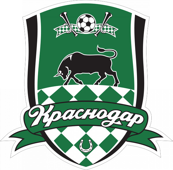 Emblem of FC Krasnodar, football club from the top division