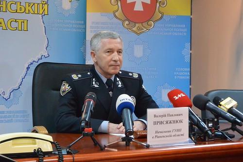 Генерал Присяжнюк хочекерувати п`ять років