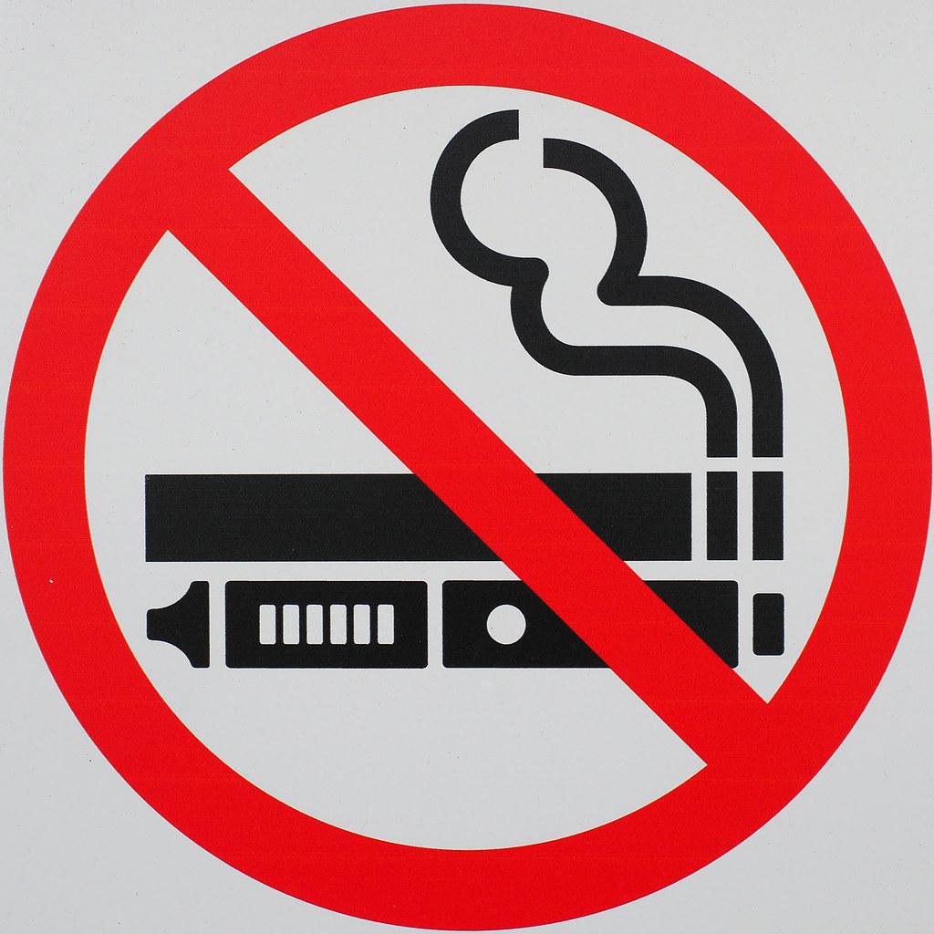 no-smoking or vaping | Chris | Flickr