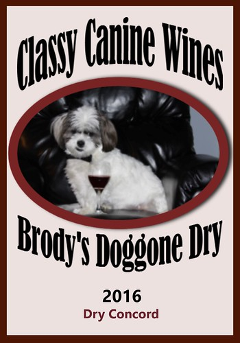 Brody's 2016 Doggone Dry Label