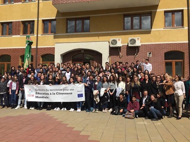 Développement durable et solidarité internationale: des élèves en Roumanie dans le cadre du projet ACTECIM