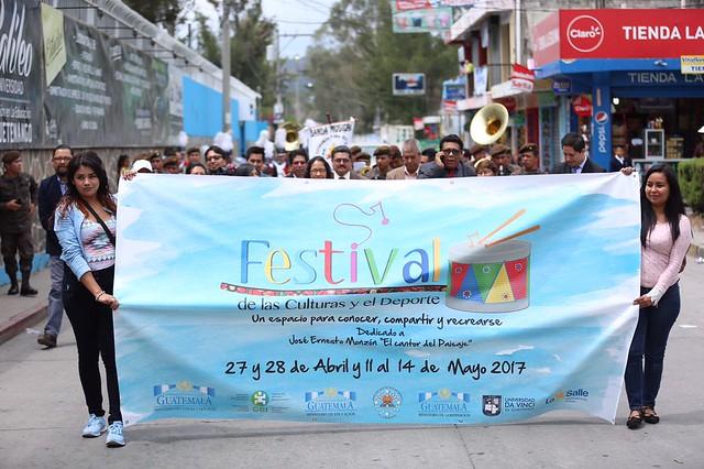 Festival de las Culturas y el Deporte en Huehuetenango 2017