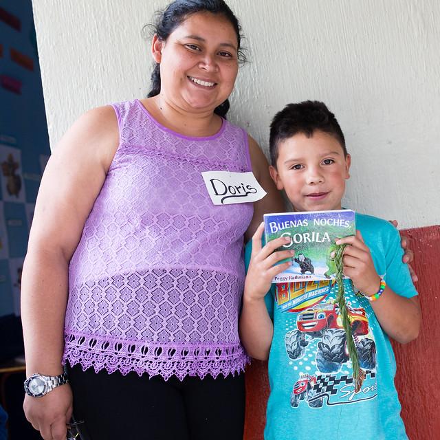 Guatemalan primary school reading program