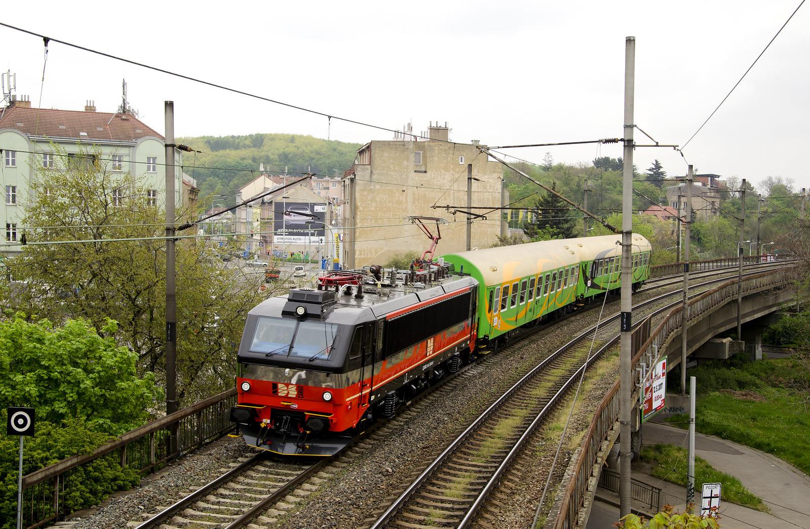 365.001 Praha Hl.n-Praha Holešovice 4.5.2017