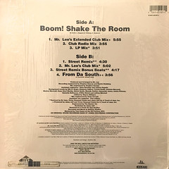 JAZZY JEFF & FRESH PRINCE:BOOM! SHAKE THE ROOM(JACKET B)