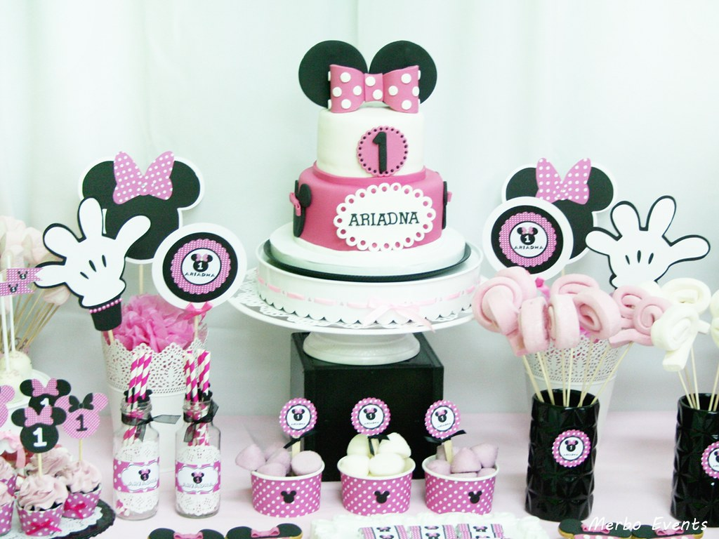Mesa dulce Minnie Mouse Merbo Events