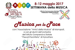Noicattaro. Festa della Musica alla Pascoli front