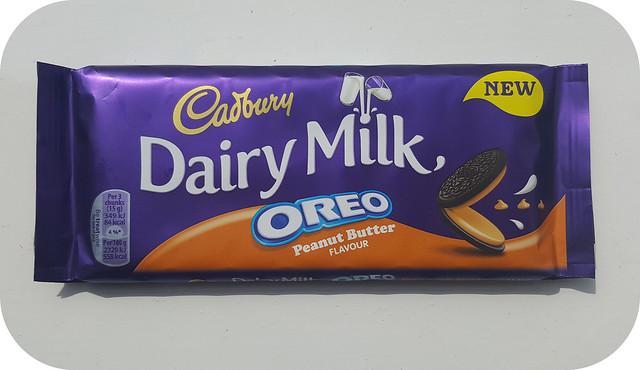 Cadbury Dairy Milk Oreo Peanut Butter
