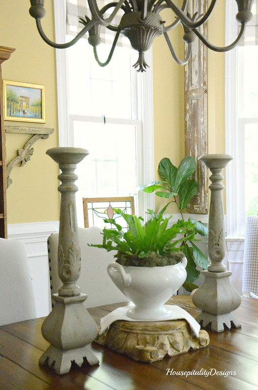 Dining Room Table Vignette-Housepitality Designs