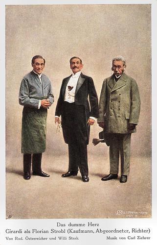 Alexander Girardi in Das dumme Herz (1914)