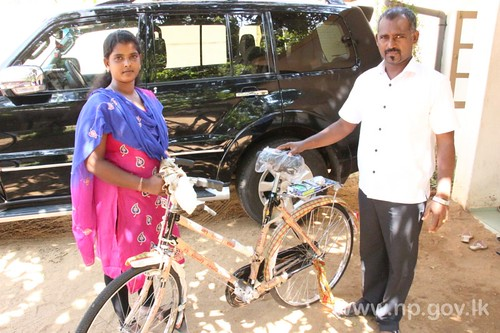 Bicycles donated to needy by Fisheries Minister