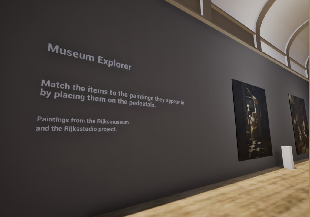 Museum Explorer VR screenshot