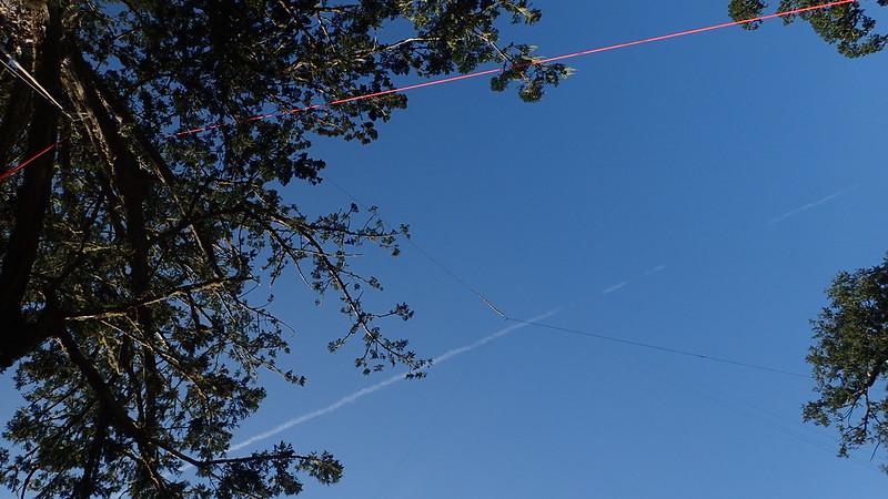 70米高的拍攝纜繩
