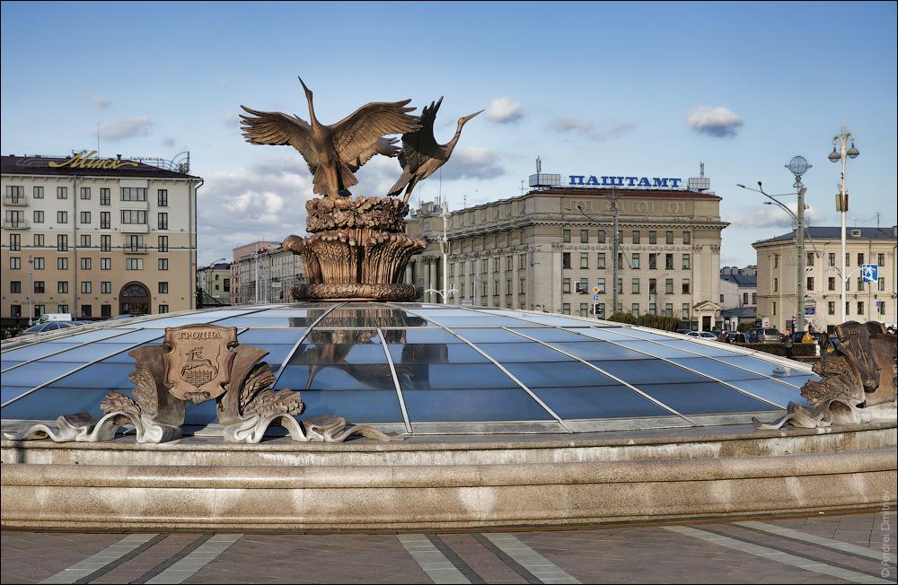 Фонтан на площади Независимости