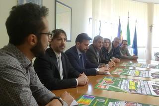 Noicattaro. Conferenza stampa torneo front