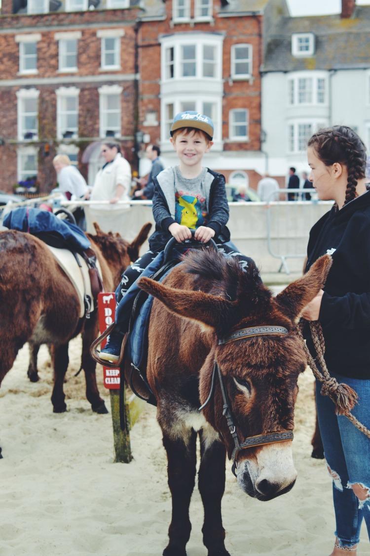 Donkey ride at Weymouth