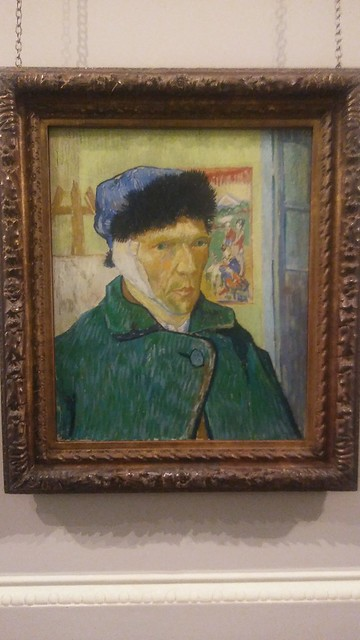 Van Gogh Self Portrait with a Damaged Ear