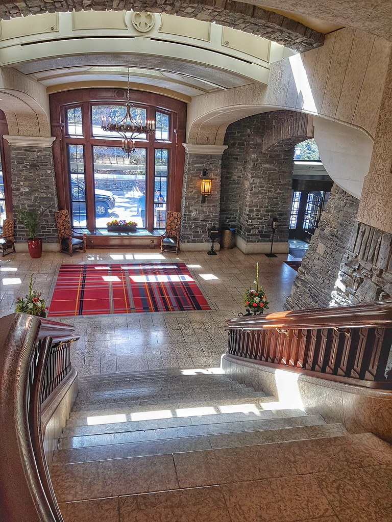 Fairmont Banff Springs Staircase