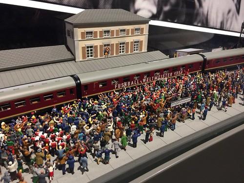 model af Singen am Hohentwiel togstation