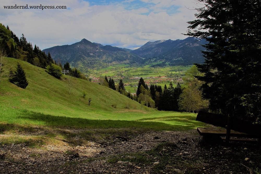 Wanderung aufs Brauneck bei Lengries