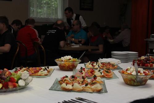 Společná večeře v restauraci Plzeňský dvůr