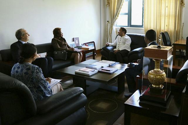 Secretária Executiva em visita oficial a Timor-Leste
