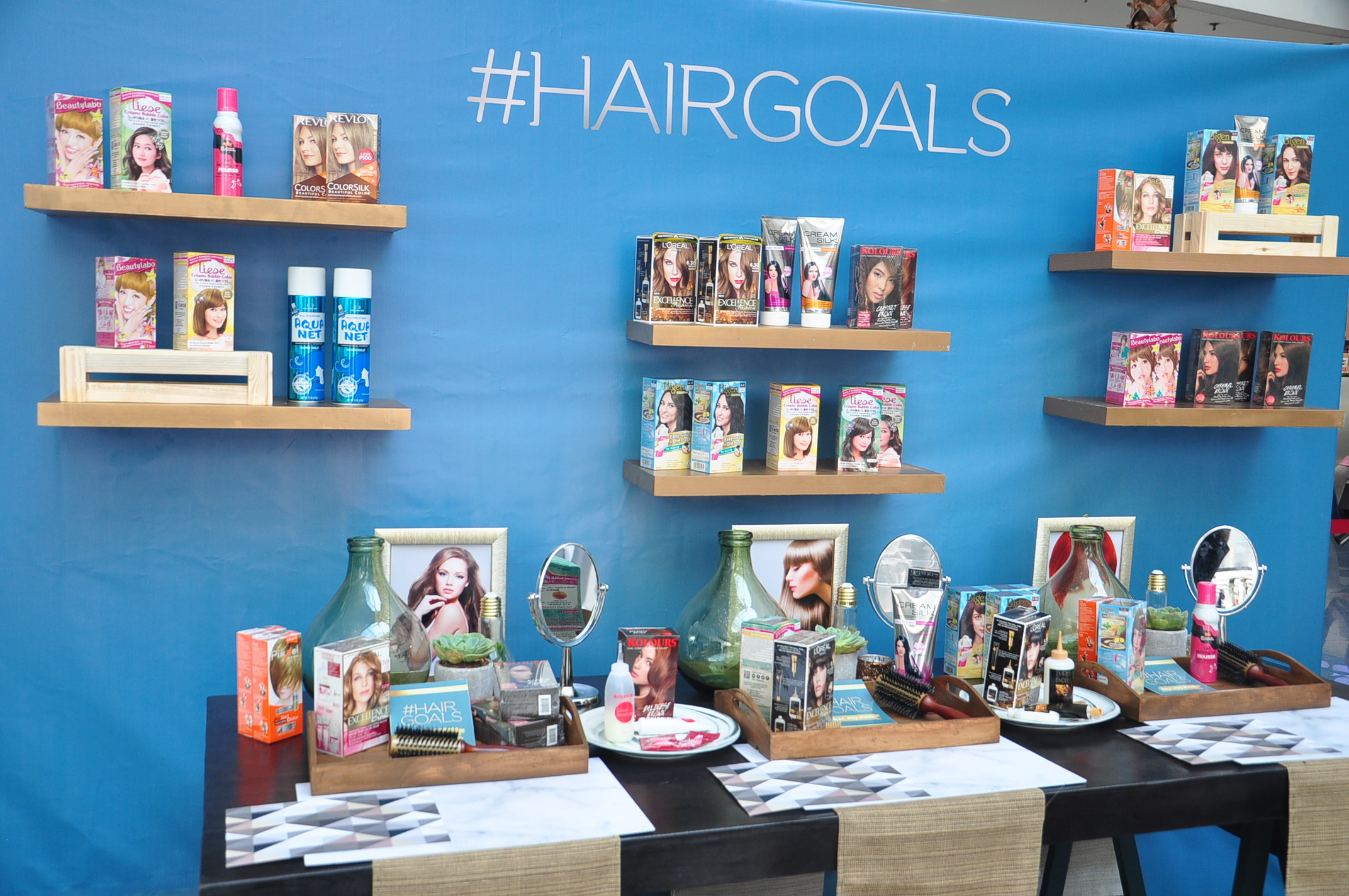 Watsons #Hairgoals  Participating Products