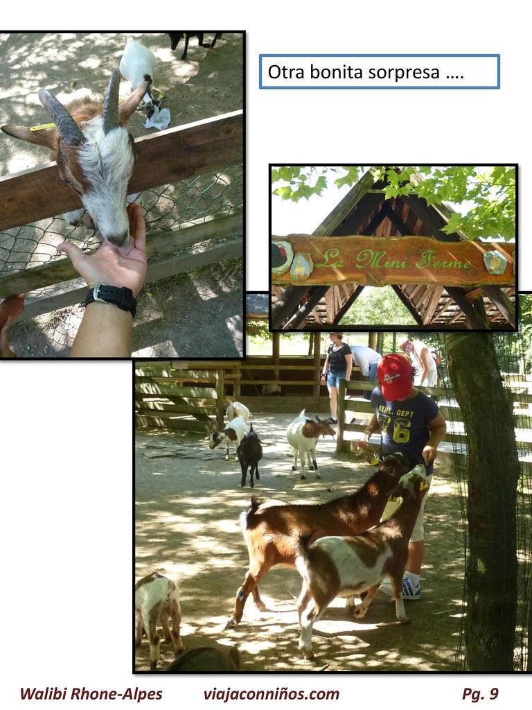 WALIBI Rhone-Alpe. Un pequeño gran parque de atracciones.
