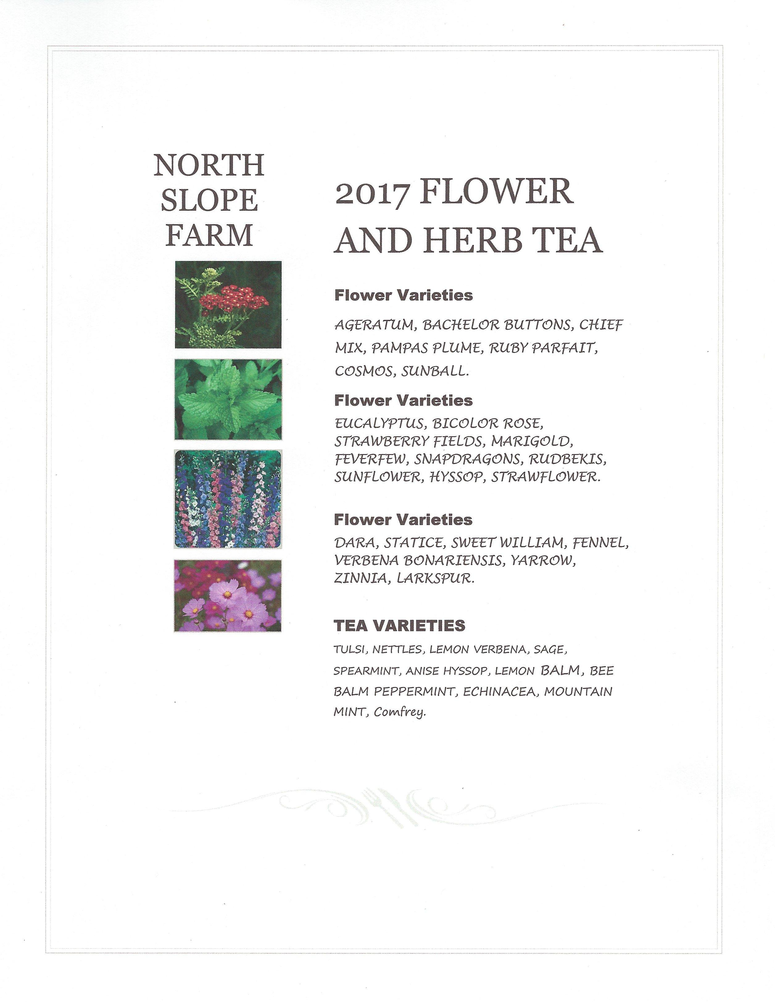 Flower CSA at NorthSlopeFarm